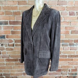 Women's Preston York Suede Leather Jacket M